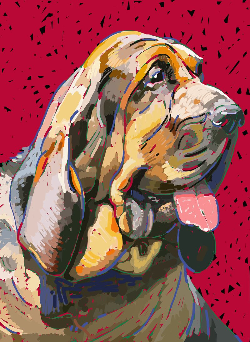 Dog paintings iPad  0011